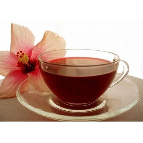 Trà giảm cân từ nấm linh chi và hoa dâm bụt